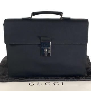 グッチ(Gucci)の未着用品 GUCCI ブリーフケース A4収納可 ビジネスバッグ(ビジネスバッグ)