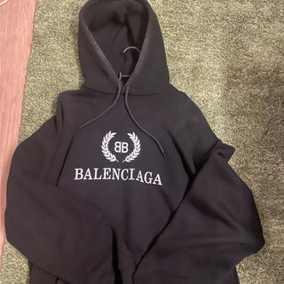 Balenciaga - BALENCIAGA バレンシアガ フーディー パーカー BB