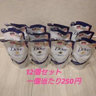 ユニリーバ(Unilever)のダヴ ボディウォッシュ詰め替え360g×12個 プレミアムモイスチャーケア(ボディソープ/石鹸)