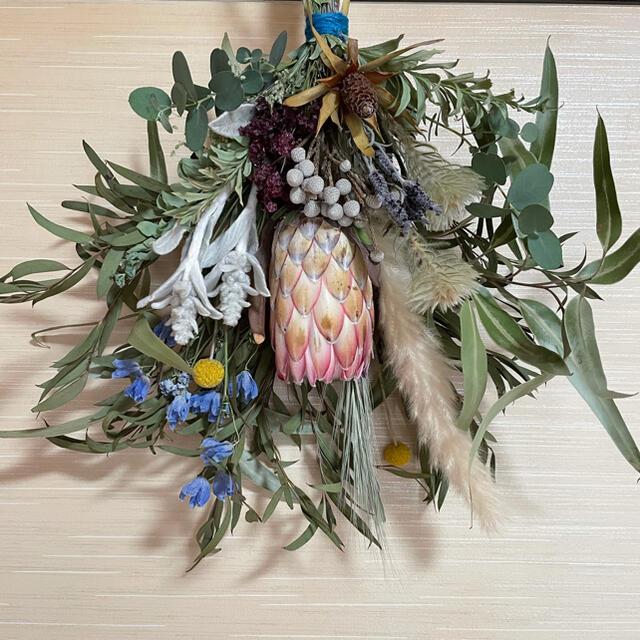 スサーラのスワッグ お値下げしました ハンドメイドのフラワー/ガーデン(ドライフラワー)の商品写真