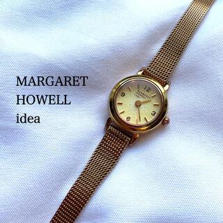 マーガレットハウエル(MARGARET HOWELL)のマーガレットハウエル  MARGARETHOWELL 腕時計 メッシュ ゴールド(腕時計)