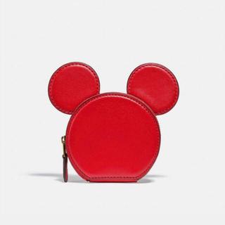 コーチ(COACH)の(完売品)ディズニー ミッキー マウス X キース・ヘリング コイン ケース(コインケース/小銭入れ)