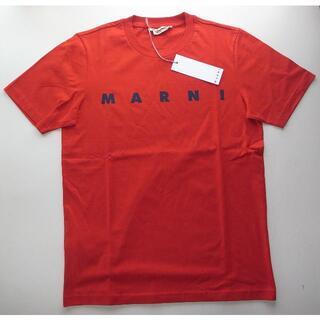 マルニ(Marni)のmarni マルニ logo ロゴ Tシャツ size48 red(Tシャツ/カットソー(半袖/袖なし))