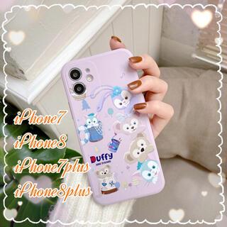 ダッフィー(ダッフィー)の◆Duffyとfriends♡iPhone7/7plus/8/8plusケース◆(iPhoneケース)