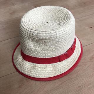 ザラ(ZARA)の麦わら帽子 ストローハット (帽子)
