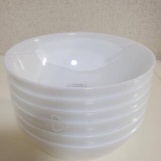 ヤマザキセイパン(山崎製パン)の2012年ヤマザキ春のパン祭り 6枚セット 白いモーニングボウル(食器)