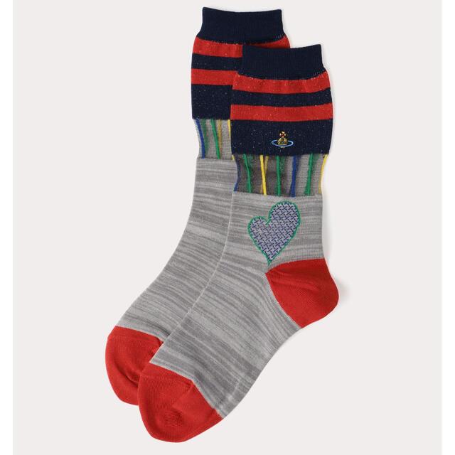 Vivienne Westwood(ヴィヴィアンウエストウッド)のヴィヴィアン 靴下 レディースのレッグウェア(ソックス)の商品写真