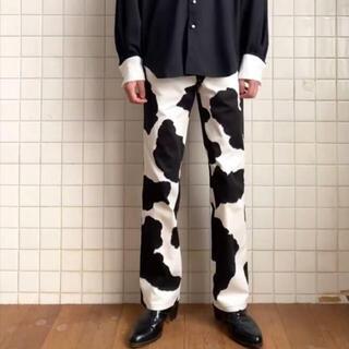 JOHN LAWRENCE SULLIVAN - orimi cow cow pants size1 white