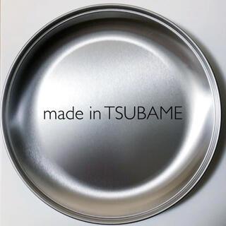 TSUBAME   ラウンドトレー プレート 皿 ステンレス 日本製(食器)