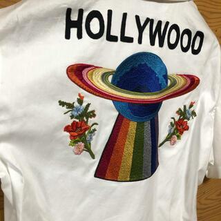 グッチ(Gucci)のgucci 半袖 シャツ Hollywood 刺繍(シャツ)