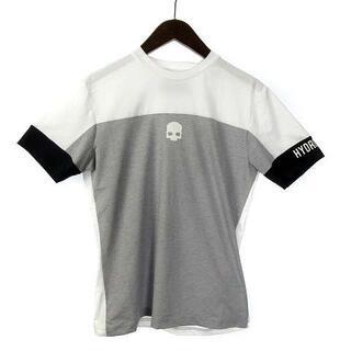 ハイドロゲン(HYDROGEN)のハイドロゲン Tシャツ カットソー 半袖 ロゴ ドクロ S 白 黒 グレー(Tシャツ/カットソー(半袖/袖なし))