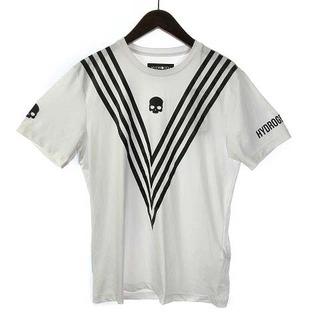 ハイドロゲン(HYDROGEN)のハイドロゲン Tシャツ カットソー 半袖 ロゴ ドクロ L 白 黒(Tシャツ/カットソー(半袖/袖なし))