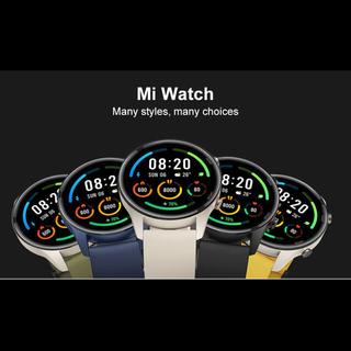 アンドロイド(ANDROID)のXiaomi mi watch ブラック系カラー 新品未開封 日本語対応 ◎(腕時計(デジタル))