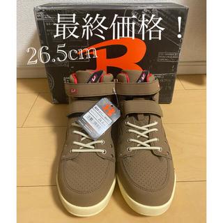 BURTLE - 作業靴 26.5cm BURTLE セーフティフットウェア キャメル