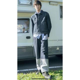 アレッジ(ALLEGE)のkudos 21ss 2tone denim pants クードス デニム (デニム/ジーンズ)