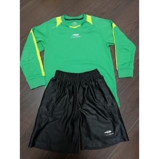 ティゴラ(TIGORA)のTIGORAサッカーキーパーユニフォーム上下セット(ウェア)