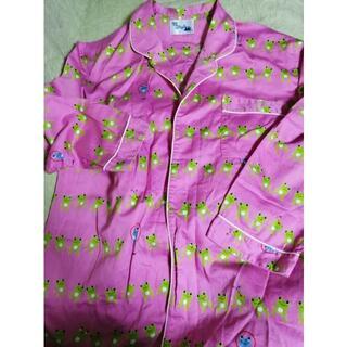 ぽっきり値下げサンリオ可愛いカエルの柄 ピンク 綿100% パジャマ(パジャマ)