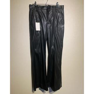 サンシー(SUNSEA)のryo takashima pants leather 2(スラックス)