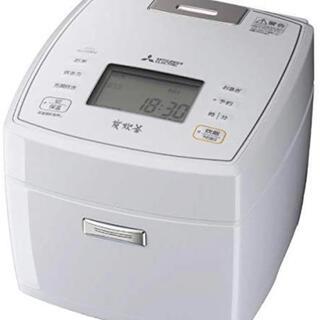 ミツビシ(三菱)の三菱 IHジャー炊飯器(5.5合) NJ-VEA10S-W 人気新品商品(炊飯器)