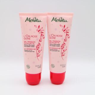 メルヴィータ(Melvita)のメルヴィータ ロルロゼ オイルイン ICジェル 2個 未使用品(ボディクリーム)
