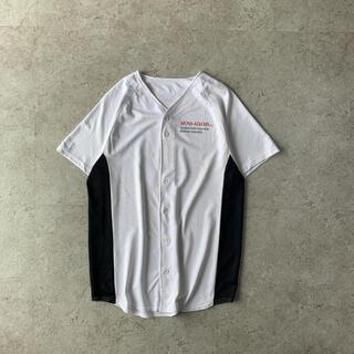 デサント(DESCENTE)のMOSS ADAMS ベースボールシャツ ホワイト(ウェア)