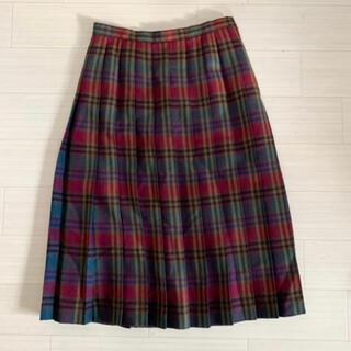 グリモワール(Grimoire)のVintage 90s チェック柄ウールスカート(ロングスカート)