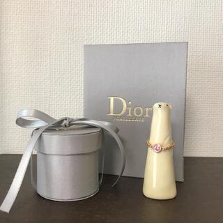 ディオール(Dior)のDior maxioui マキシウィ K18PG ピンクサファイア 限定リング(リング(指輪))