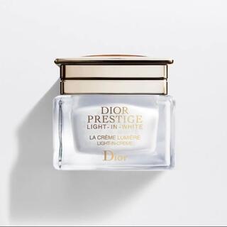 ディオール(Dior)のディオール プレステージ ホワイト ラクレームルミエール 美容クリーム(フェイスクリーム)