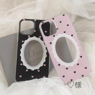 ♡様 フォトフレームiPhoneケース(スマホケース)