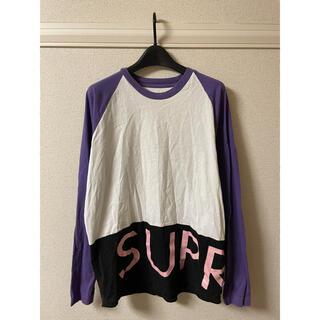 シュプリーム(Supreme)のシュプリーム supreme Tシャツ カットソー ロンT 長袖 ラグラン M(Tシャツ/カットソー(七分/長袖))