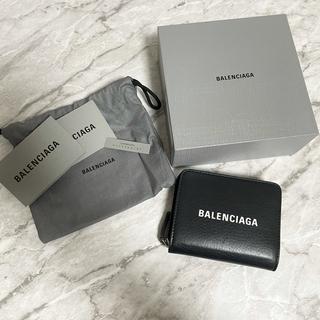 Balenciaga - BALENCIAGA 財布 ブラック
