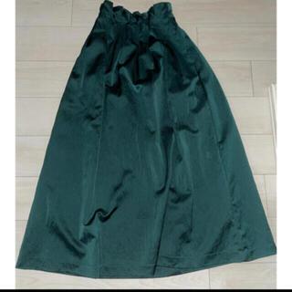 エンフォルド(ENFOLD)の【新品タグ付き】UN3D. スカート 38(ロングスカート)