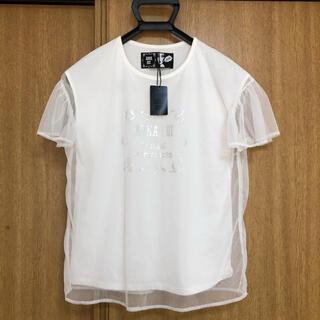 アナスイ(ANNA SUI)の未使用タグ付き ANNA SUI× 山本寛斎コラボ チュールTシャツ(Tシャツ(半袖/袖なし))