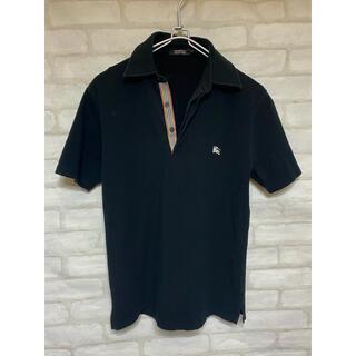バーバリーブラックレーベル(BURBERRY BLACK LABEL)のバーバリーブラックレーベル ポロシャツ 三陽商会 半袖シャツ (ポロシャツ)