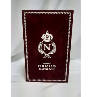サントリー(サントリー)のCAMUS カミュ ナポレオン ブック ゴールド ブランデー(ブランデー)
