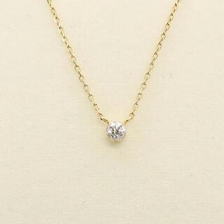 アーカー(AHKAH)のアーカー ブリリアン ダイヤ ネックレス k18(ネックレス)