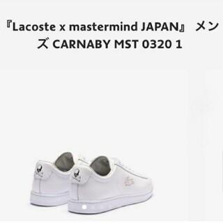 ラコステ(LACOSTE)のLacoste x mastermind JAPAN(スニーカー)