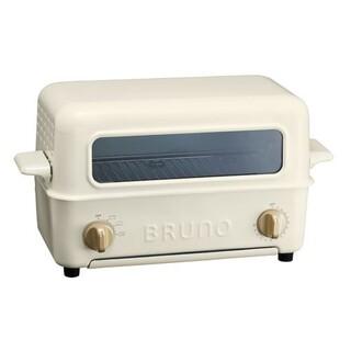I.D.E.A international - 【未使用】 BRUNO ブルーノ トースターグリル 2枚焼き 魚焼き ホワイト