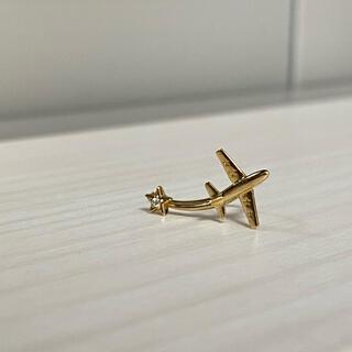 スタージュエリー(STAR JEWELRY)のSTAR JEWELRY  飛行機モチーフピアス(ピアス)