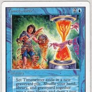 マジックザギャザリング(マジック:ザ・ギャザリング)のtimetwister(シングルカード)