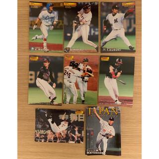 カルビー(カルビー)のプロ野球チップス カード 2001年 オールスター 日本シリーズ一式(スポーツ選手)