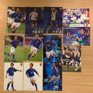 カルビー(カルビー)のサッカー 日本代表チップス カード 2003-2006年 一式(スポーツ選手)