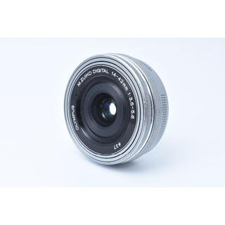 オリンパス(OLYMPUS)の★美品★ OLYMPUS M.ZUIKO 14-42mm EZ ED MSC(レンズ(単焦点))