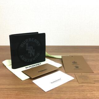 バーバリー(BURBERRY)の未使用品 BURBERRY 財布 ブラック×グレー バーバリー 136(折り財布)