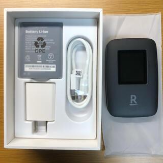 ラクテン(Rakuten)の楽天ポケットWi-Fi ブラック 新品(その他)