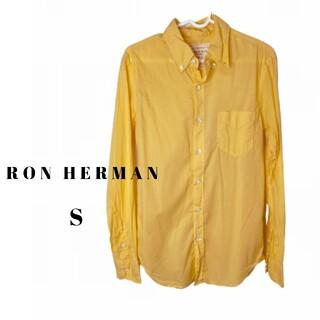 ロンハーマン(Ron Herman)のRON HERMAN ロンハーマン GREEN DYE ボタンダウン シャツ S(シャツ)