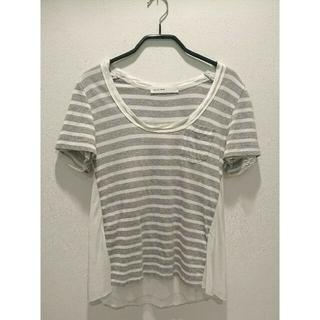 サカイ(sacai)の♡sacai luck♡ふんわり ボーダーTシャツ size1 日本製(Tシャツ(半袖/袖なし))