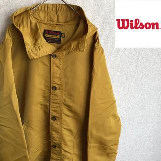 ウィルソン(wilson)のWilson ナイロン ジャケット 38 日本製 ブルゾン ウィルソン 古着(ナイロンジャケット)