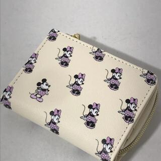 ディズニー(Disney)の正規品 新品未使用 ディズニー ミニーマウス 二つ折り財布(財布)