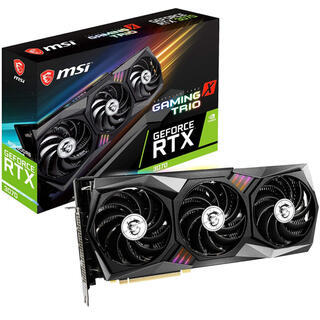 MSI GeForce RTX 3070 GAMING X TRIO(PCパーツ)